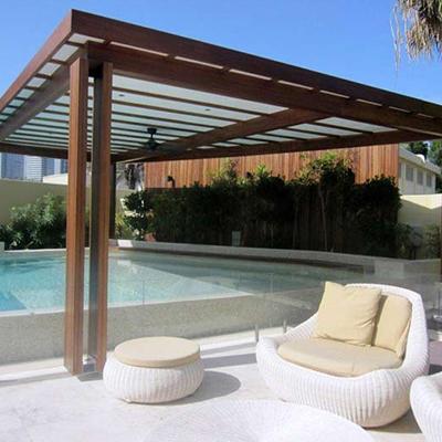 Pergolado para piscina madeireira cedro for Pergolas para piscinas