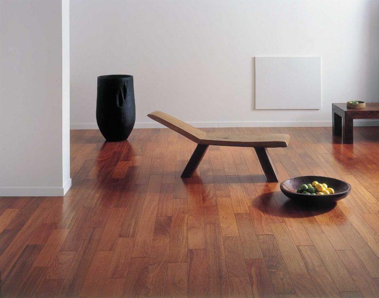 Por causa de sua estabilidade, durabilidade e versatilidade, a angelim-pedra é uma madeira perfeita para assoalhos e decks!