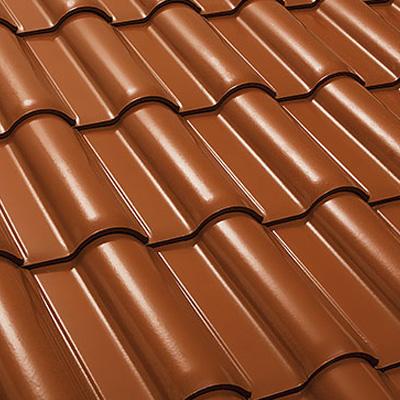 Tipos de telha cerâmica - de barro