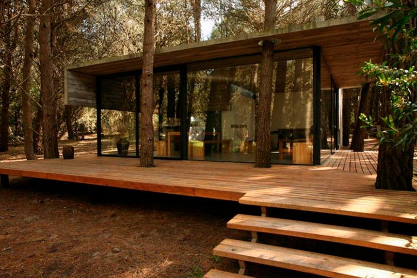 Casa na Floresta - Transparente!