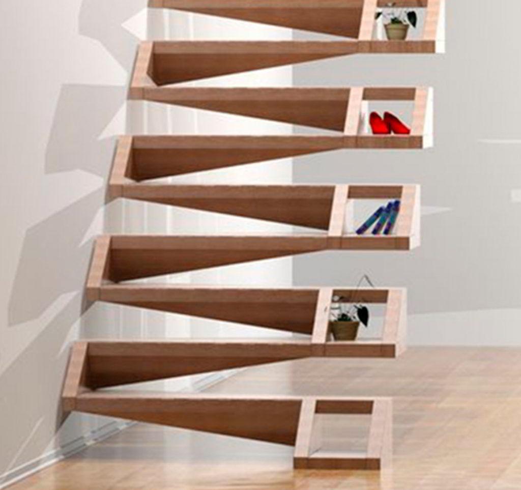 Escada de Madeira - Design Contemporâneo