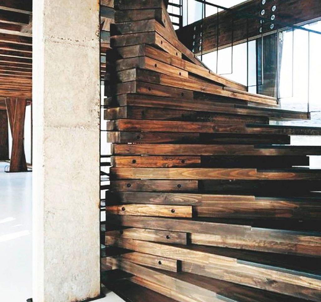 Madeira Reciclada Para Escada
