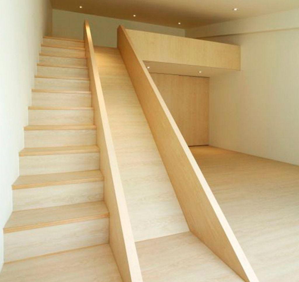 Escada e Mezanino de Madeira!