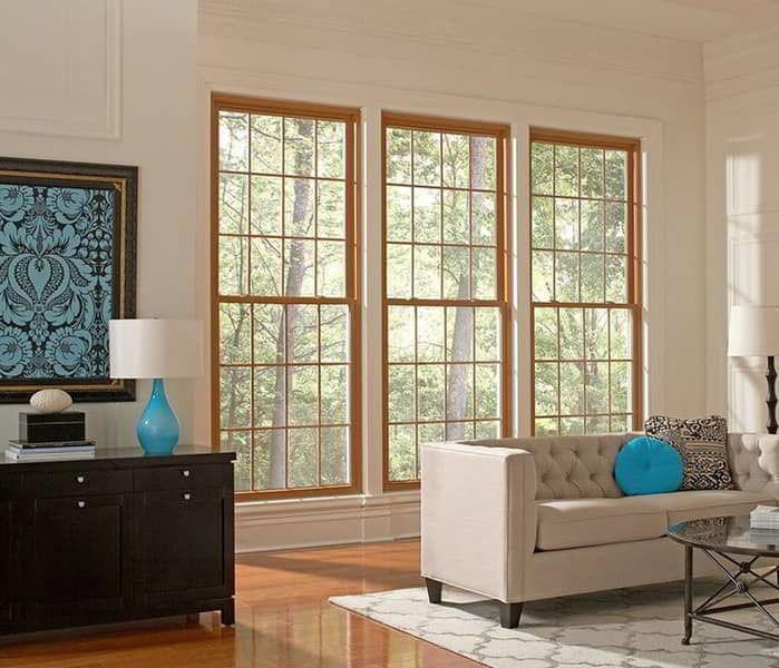 Ideia inspiradora de janela de madeira para salas!