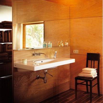 Banheiro Todo Decorado em Madeira!