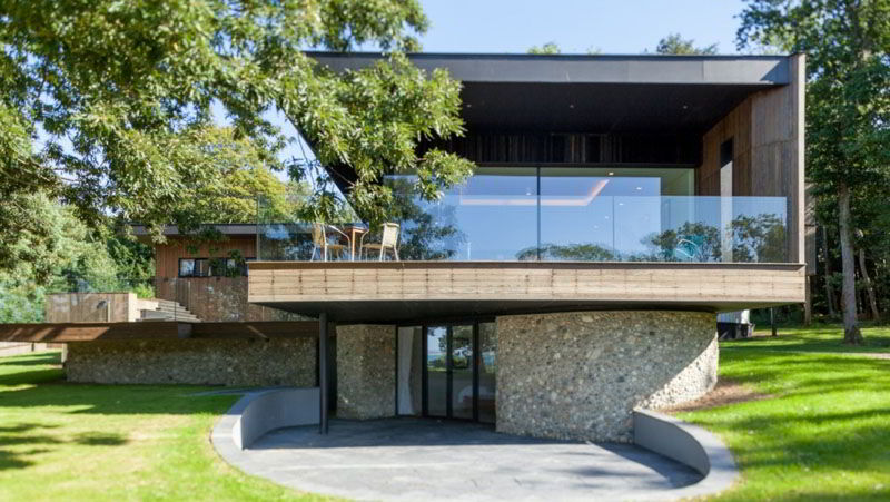 Fachada Casa Na Natureza