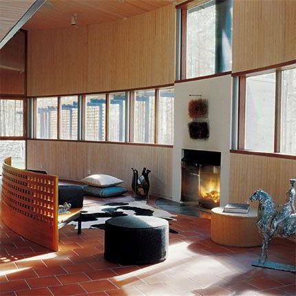 Sala com Vista Panorâmica