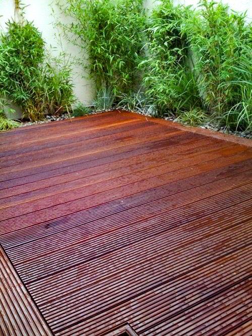 De preço mais baixo do que algumas madeiras, a massaranduba é bastante utilizada em ambientes externos.