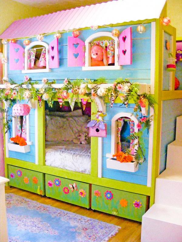 Camas Infantis Diferentes - Casa de Boneca!