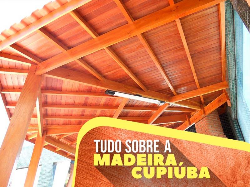Saiba tudo sobre a madeira cupiúba, também conhecida como peroba do norte.