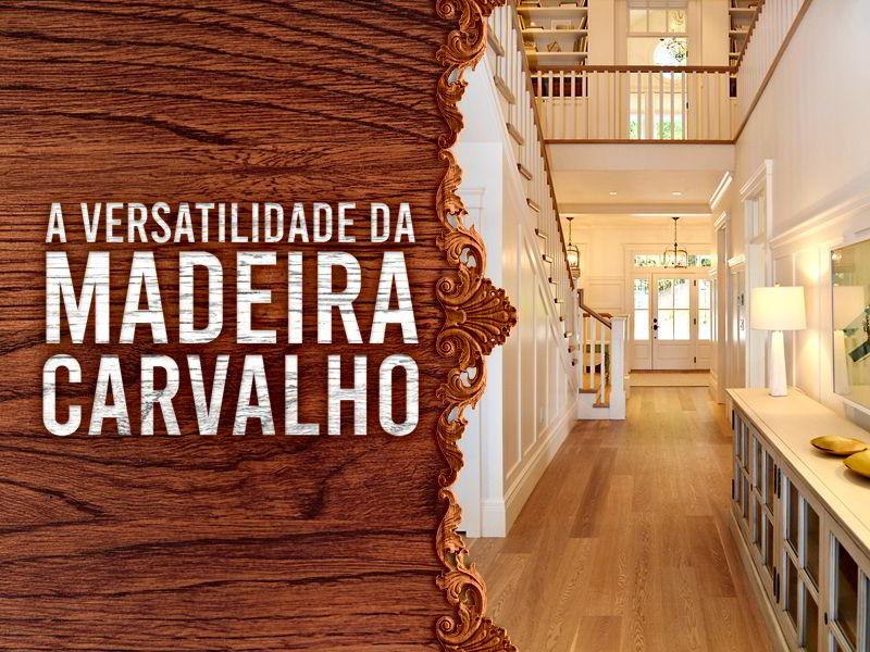 Conheça a madeira carvalho, que é um material muito versátil, podendo ser utilizada para confecção de muitos objetos em diferentes estilos.