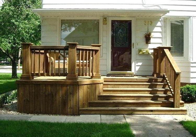 Cerca de madeira para varanda.