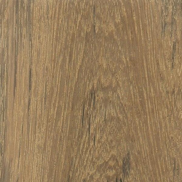 Cor e textura de madeira teca.