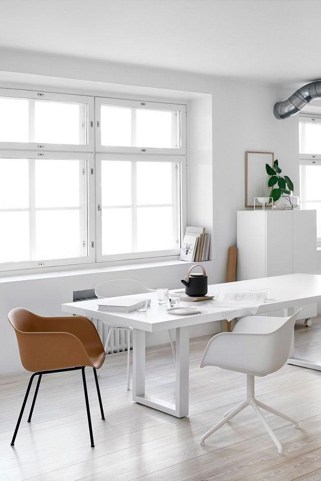 A iluminação natural é uma das características do estilo decorativo escandinavo.