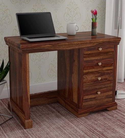 Mesa de estudo de madeira maciçateca