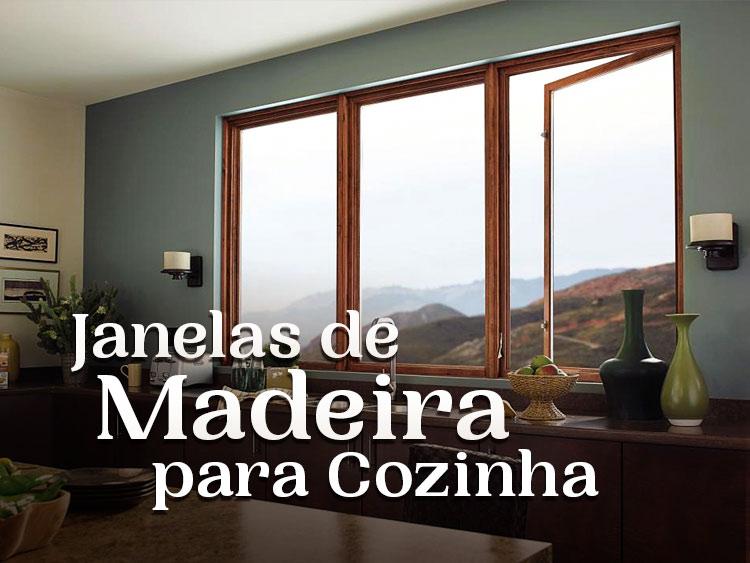 Confira uma seleção especial de ideias para janelas de madeira para cozinha.